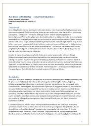 Kaffens biologi - en kort introduktion - Division5