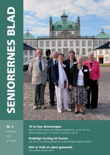 Seniorernes Blad nr. 4 2012 - Pensionisternes Samvirke