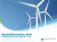 Dagsorden - Greentech Energy Systems A/S