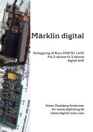 Märklin digital - Digital tog og digital modeljernbane