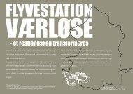 Flyvestation Værløse – et restlandskab transformeres