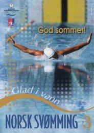 Norsk Svømming nr 3 - Norges Svømmeforbund