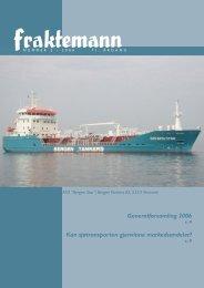 Fraktemann nr. 2, 2006 - Fraktefartøyenes Rederiforening