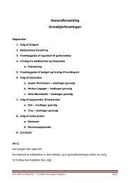 Referat af generalforsamling 28. marts 2011 - Velkommen til ...