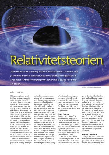 Relativitetsteorien - Niels Bohr Institutet