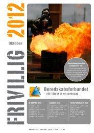 Frivillig Oktober 2012 - Beredskabsforbundet