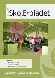 Skoleblad november 2005.indd - Sydvestjyllands Efterskole
