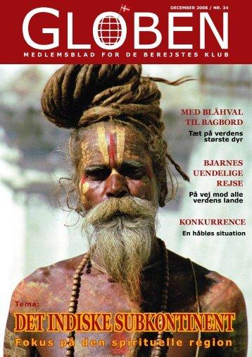 DET INDISKE SUBKONTINENT - De Berejstes Klub