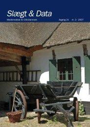 2007-3 slægt & data.pdf - DIS-Danmark