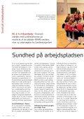 SUNDHED PÅ ARBEJDSPLADSEN VINDER TERRÆN. Side 4-12 - Page 4