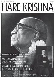 prabhupada disku- terer george berkely - Nyt fra Hare Krishna