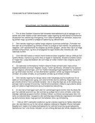 Hent situations- og trusselsvurdering af 9. maj 2007 - Forsvarets ...