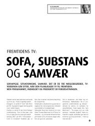 FREMTIDENS TV: - Bo Damgaard
