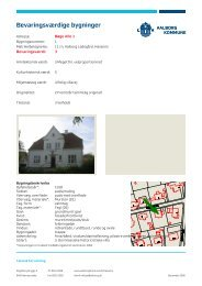Bøge Alle. SAVE. Lokalplan 05-078 - Aalborg Kommune