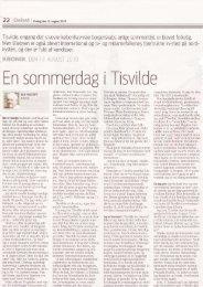 En sornr-nerdag i Tisvitde - Vejby Tibirke Selskabet