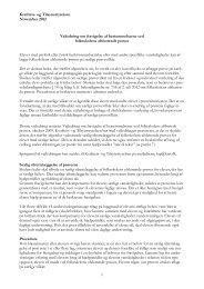 Vejledning om fravigelse af bestemmelserne ved folkeskolens ...