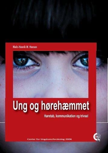 hent rapport (pdf) - Center for Ungdomsforskning