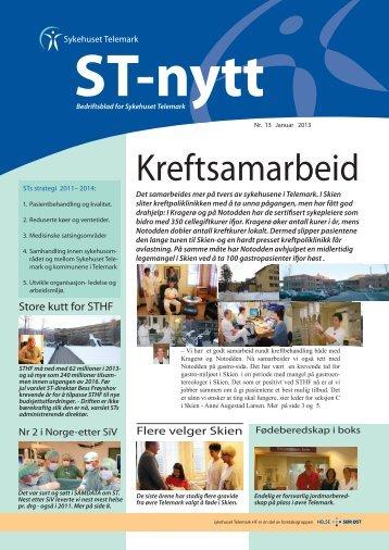 Kreftsamarbeid - Sykehuset Telemark