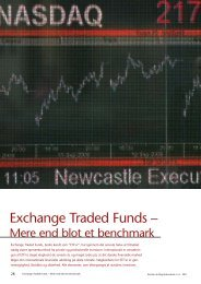 Exchange Traded Funds – - Bech-Bruun