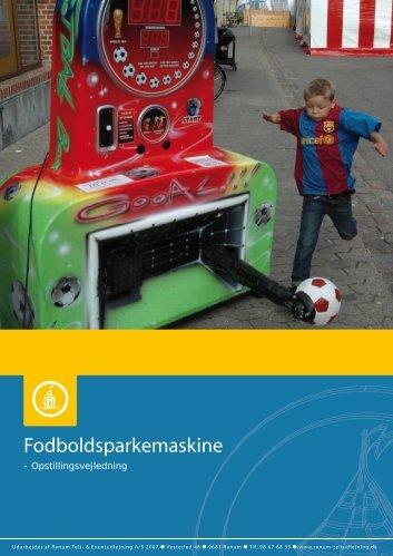 Fodboldsparkemaskine - Ranum Teltudlejning