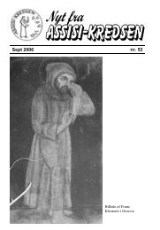 Sept 2006 nr. 52 - Assisi-Kredsen