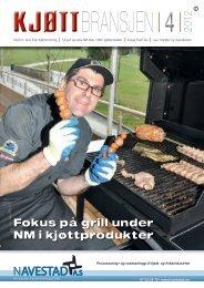Bladet Kjøttbransjen nr 04 2012 - Kjøtt- og fjørfebransjens ...