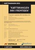 Bladet Kjøttbransjen nr 04 2012 - Kjøtt- og fjørfebransjens ... - Page 4