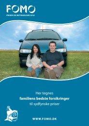 Her tegnes familiens bedste forsikringer til sydfynske priser - Fomo