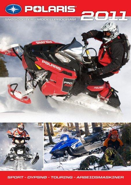 Trykk her for Polaris snøscooter katalog 2011 - Cbp AS
