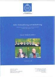 Rapporten ADB i folkbokföring och beskattning - Skatteverket