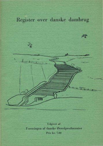 Register over danske dambrug (1957) - Runkebjerg.dk