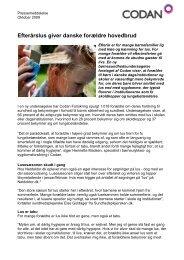 Efterårslus giver forældre hovedbrud - Codan Forsikring A/S
