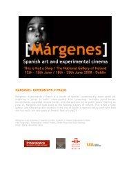 MÁRGENES: EXPERIMENTO Y PRAXIS - Alberte Pagán