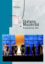 Statens Musikråd - Kunst.dk