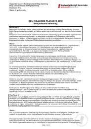 Bestyrelsens skriftlige beretning 2011 - 2012 - Mellemfolkeligt ...