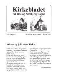 blad nr. 1 - Næsbjerg Kirke