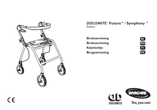 low price dirt cheap authentic quality DOLOMITE® Futura™/ Symphony ™ - Invacare