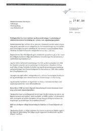 Transportministerens redegørelse af 25. oktober ... - Rigsrevisionen