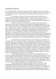 Formandens beretning 2012 Så er vi ifølge kalenderen - Jysk Stenklub