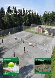 Varde Tennisklub 2013