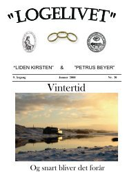 Logeliv WEB Jan 08.pub - Loge nr. 41 Petrus Beyer, 7700 Thisted