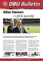 Allan Hansen i UEFA komité - DBU