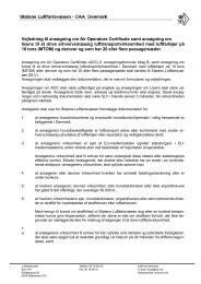Ansøgning om AOC og EU-licens (Stor) - Vejledning