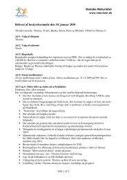 Referat af bestyrelsesmøde den 10. januar 2010 - Danske Naturister