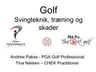 Klik her for at se vores præsentation på golf og ... - PGAgolfshop.dk