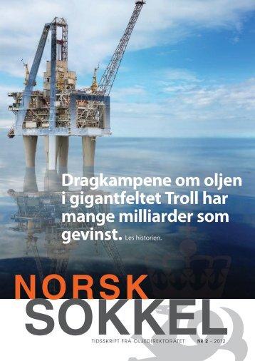 Norsk Sokkel nr.2 - 2012 - Oljedirektoratet
