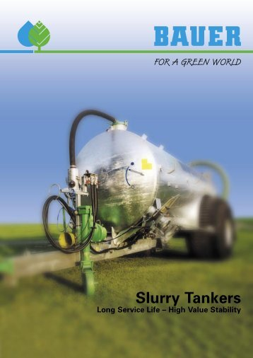 BAUER slurry tankers - Kirk Irrigation
