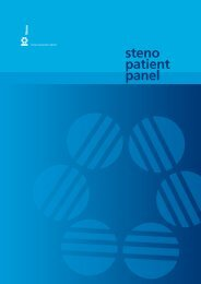 Steno Patient Panel 2012 - Steno Diabetes Center