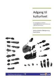 Adgang til kulturlivet - Center for Kunst & Interkultur