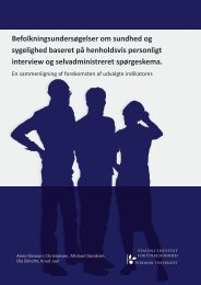 Download pdf-fil - Statens Institut for Folkesundhed
